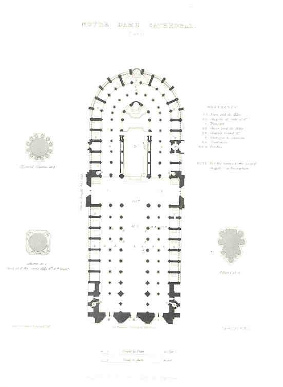 Notre Dame Floor Plan