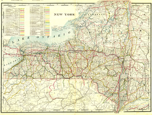 Railroad Maps - United States and Canada