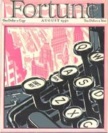 Fortune Magazine Covers - 1930 (No. 60203008)