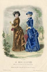Victorian Fashion Print (No. 60268138)