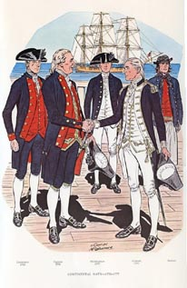 US Naval Uniforms Print (No. 61300001)