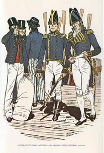 US Naval Uniforms Print (No. 61300004)