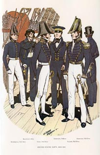 US Naval Uniforms Print (No. 61300006)