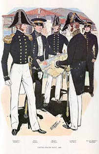US Naval Uniforms Print (No. 61300007)
