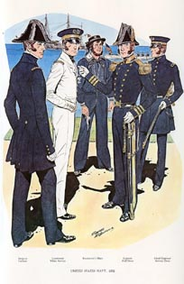 US Naval Uniforms Print (No. 61300008)