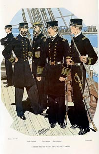 US Naval Uniforms Print (No. 61300011)