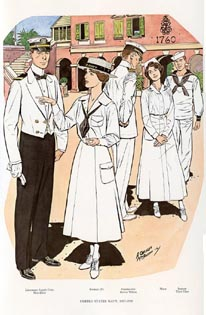 US Naval Uniforms Print (No. 61300016)