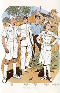 US Naval Uniforms Print (No. 61300020)