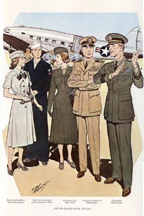 US Naval Uniforms Print (No. 61300022)