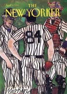 New Yorker Covers - Baseball and Football